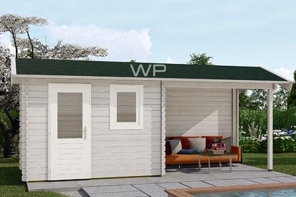 Woodpro Blokhut/Tuinhuis Malland 600x200 cm