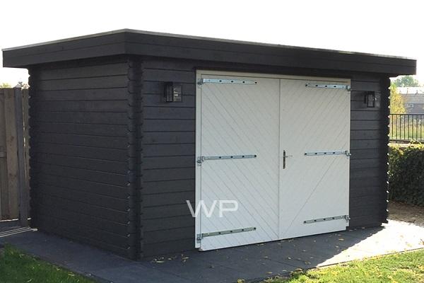 Woodpro Garage Krim 400x250 cm