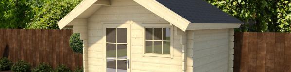 Stappenplan: Zelf een houten blokhut / tuinhuis bouwen