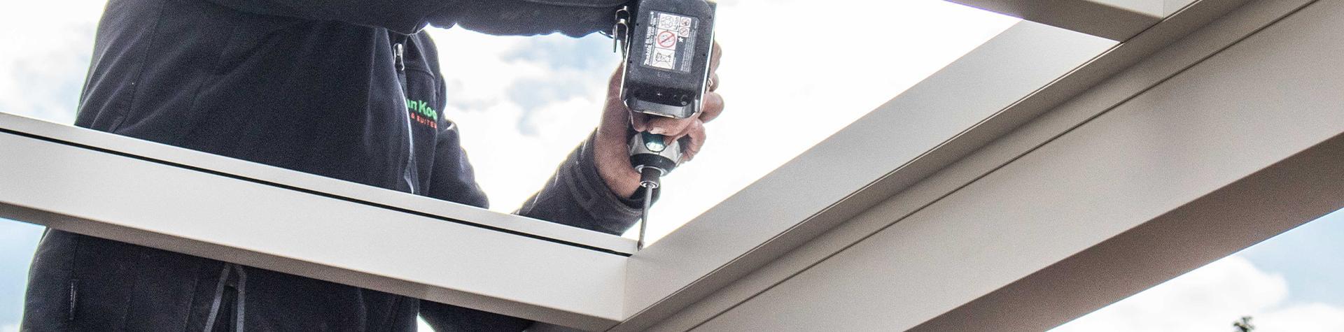Stappenplan: Zelf een aluminium veranda opbouwen